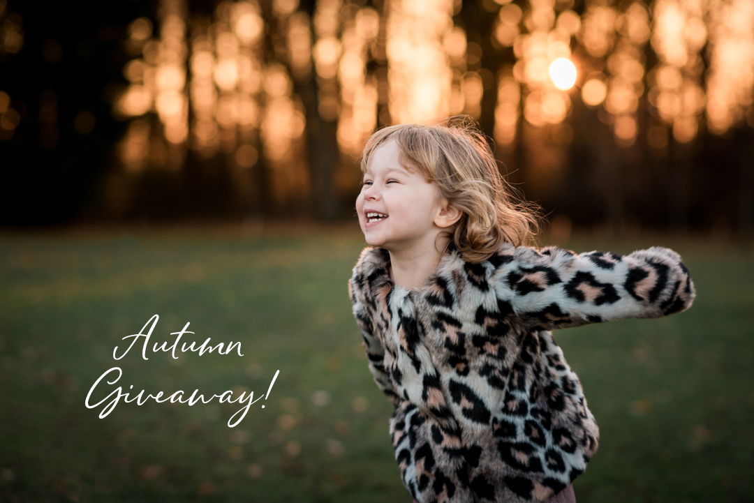 Amersham Buckinghamshire family fine art photographer Autumn mini session giveaway